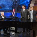 """<em>The Colbert Report</em> Says Goodbye With An All-Star Serenade &amp; Neutral Milk Hotel's """"Holland, 1945″"""