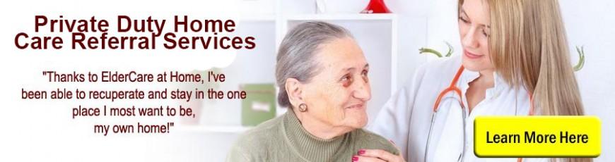 Private Duty Home Care Referral Services