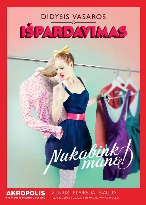AD FOR AKROPOLIS SHOPPING MALL