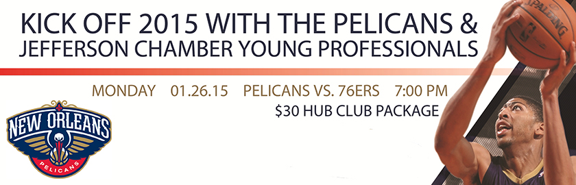 Jefferson Chamber Young Professionals Pelicans 2015 Kick-Off Event