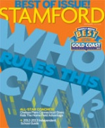 "Named in Moffly Media 2012 ""The Best of the Gold Coast Connecticut"""