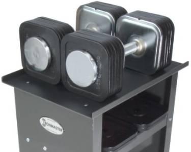 Ironmaster 75 lb Quick-Lock Adjustable Dumbbells
