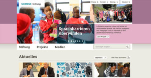 Helping people with TYPO3 The Siemens Stiftung helps people around the world and relay on TYPO3 to tell their stories and to get votes for their empowering people award. This page uses categories to