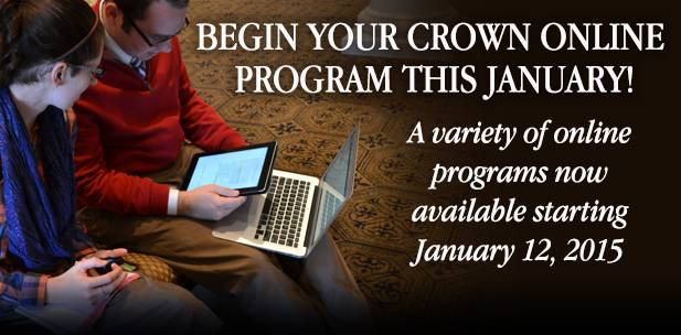 Click here for more information about online programs >>