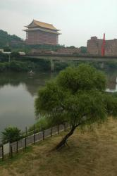 Shilin river and the Grand Hotel