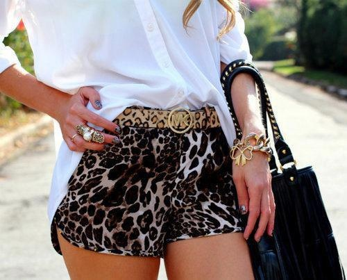 #Leopard #shorts