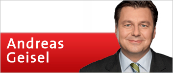 Banner: Andreas Geisel