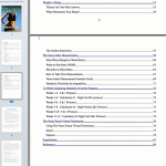 Venus factor table of contents
