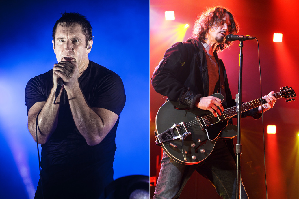 Trent Reznor, Chris Cornell, Nine Inch Nails, Soundgarden, tour, deathgrips, national