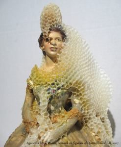 Aganetha Dyck Beeswax Art