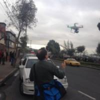 Periodismo Drone desde la previa del concierto de Metallica (Quito)