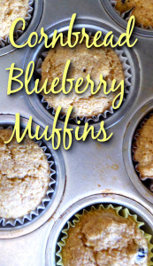 Cornbread Blueberry Muffin Recipe