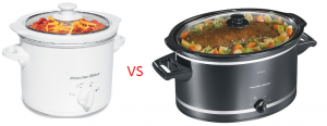 Small and Large Crock pot