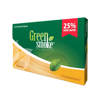 Green Smoke's Cartridges