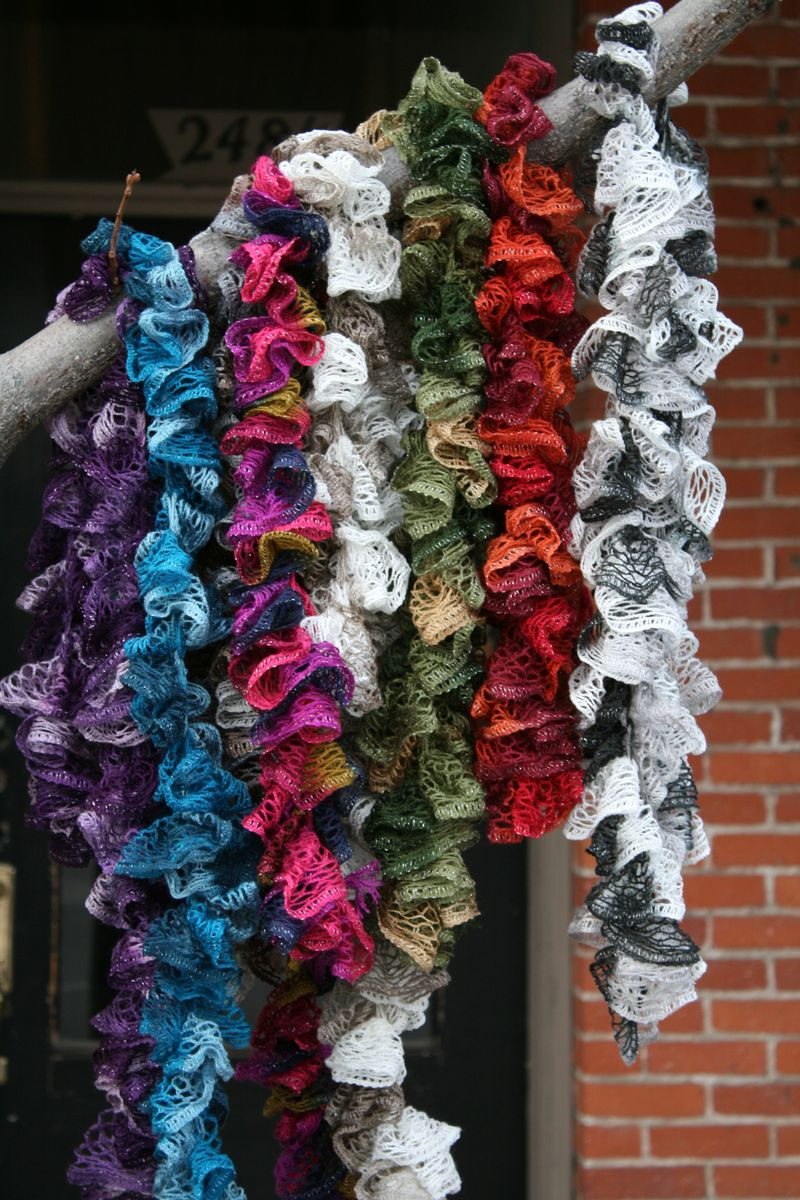 Tracy's Ruffle Scarves (3)