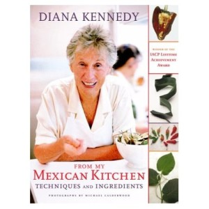 Diana Kennedy, the queen of Mexican cuisine.