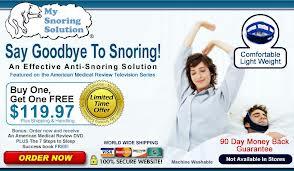 My Snoring Solution BOGO