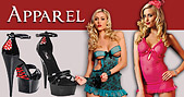 lingerie shoes and adult apparel