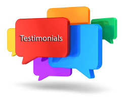 Write and Read Testimonials and Reviews