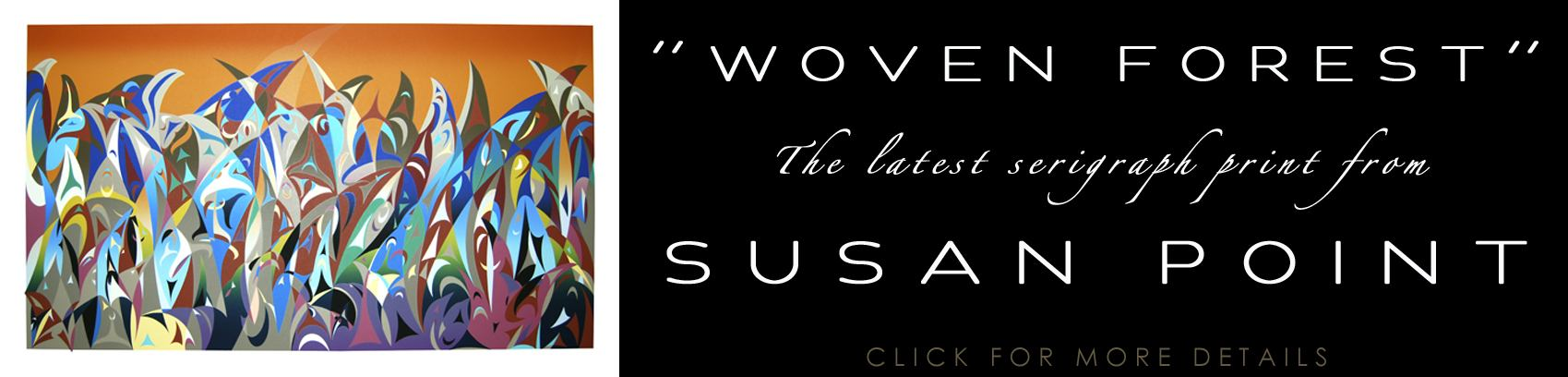 Susan Point - Woven Forest