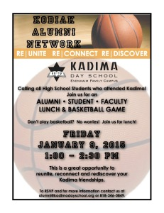 Alumni Lunch and Basketball Game