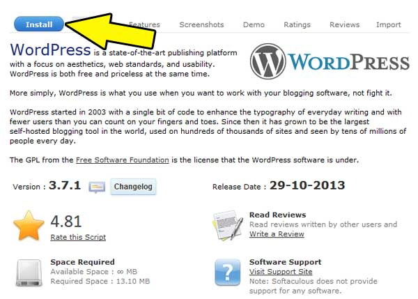 wordpress-install