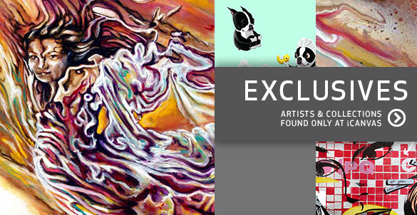 Exclusive iCanvas Artists and Collections