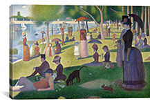 Sunday Afternoon by Georges Seurat