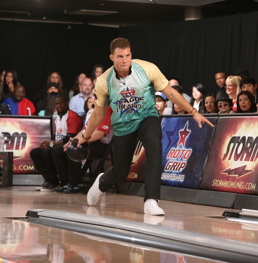 NBA-All-Star-and-LA-Clippers-Forward-Blake-Griffin-Bowls-During-the-5th-Annual-Chris-Paul-PBA-All-Stars-Invitational-Hosted-by-Chris-Paul