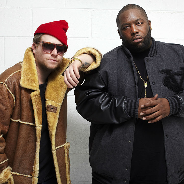 Run The Jewels support Jack White at Madison square Garden