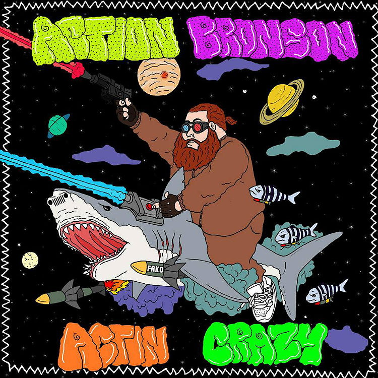 Action Bronson releases Actin Crazy from new album Mr Wonderful