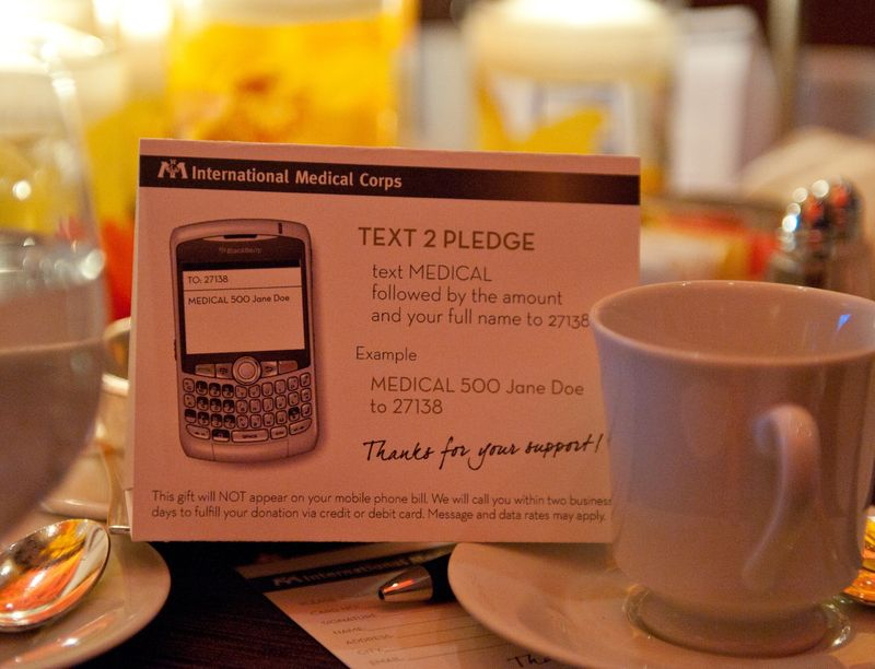 Text2pledge