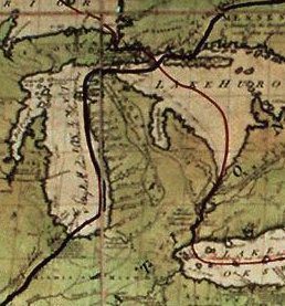 1836 : Michigan Trades the Toledo Strip for the Upper Peninsula and Statehood