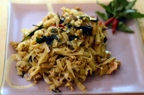 Pad Kee Mao – Drunken Noodles with Chilies and Thai Basil