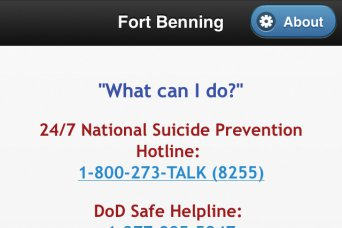The Sexual Harassment and Assault Response and Prevention WeCare app supplies users with hotline numbers, links and manuals to aid in seeking support during a difficult time, whether it is a suicidal situation or case of sexual assault.