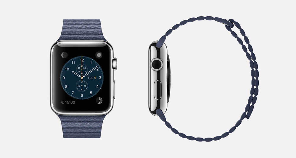 apple watch blue Resolve – The 21st Century Wristwatch
