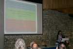 Ms Teresa Walsh, TY Coordinator, presents BARS at the K2U2 conference, Image: Philippa Barry 2013