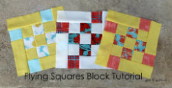 Gen X Quilters Flying Squares