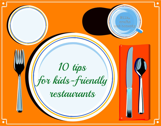 10 rules to make any restairant a family friendly place