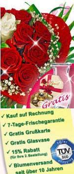 Tolle Rosen zum Valentinstag verschenken