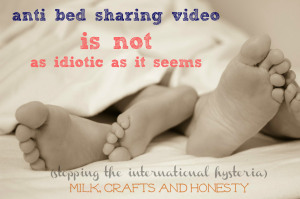 Anti bedshaing video demystified. bedsharing is great when safe