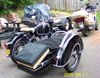 Restored R60 Vintage BMW motorcycle with S350 Steib sidecar.