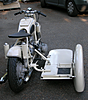 BMW Racing Sidecar, from back.
