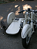 BMW Racing Sidecar, from front with cat.