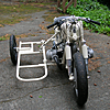 BMW Racing Sidecar, front chassis.