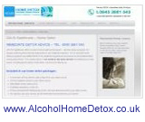 alcohol home detox far