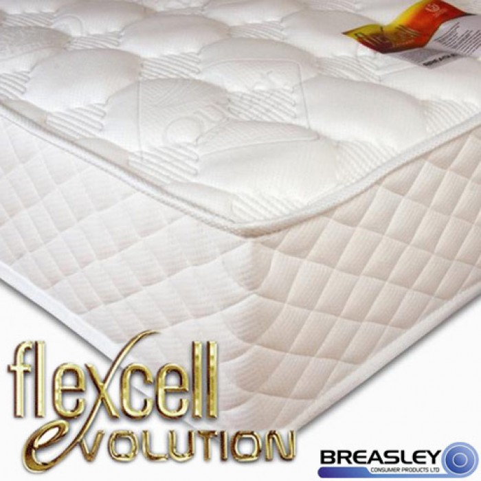 flexcell evolution memory foam mattress