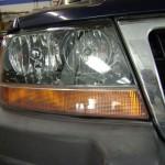 Headlamp poish after