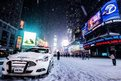 Cold weather in New York