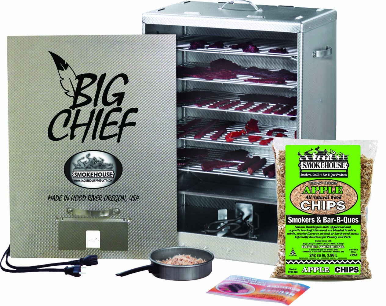 The Best Smokehouse Products Big Chief Front Load Smoker Review
